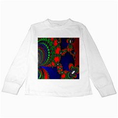 Recurring Circles In Shape Of Amphitheatre Kids Long Sleeve T Shirts