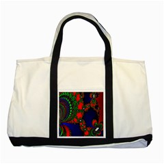 Recurring Circles In Shape Of Amphitheatre Two Tone Tote Bag