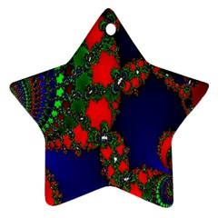 Recurring Circles In Shape Of Amphitheatre Star Ornament (Two Sides)