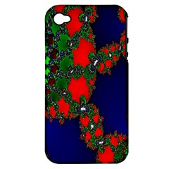 Recurring Circles In Shape Of Amphitheatre Apple Iphone 4/4s Hardshell Case (pc+silicone)