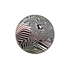 Abstract Fauna Pattern When Zebra And Giraffe Melt Together Hat Clip Ball Marker (10 pack)