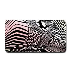 Abstract Fauna Pattern When Zebra And Giraffe Melt Together Medium Bar Mats