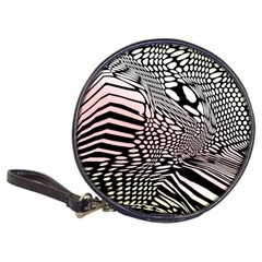 Abstract Fauna Pattern When Zebra And Giraffe Melt Together Classic 20 Cd Wallets