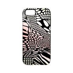 Abstract Fauna Pattern When Zebra And Giraffe Melt Together Apple Iphone 5 Classic Hardshell Case (pc+silicone)