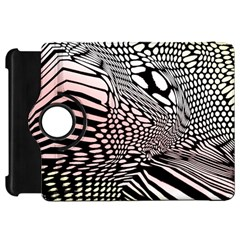 Abstract Fauna Pattern When Zebra And Giraffe Melt Together Kindle Fire Hd 7
