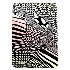 Abstract Fauna Pattern When Zebra And Giraffe Melt Together Flap Covers (s)