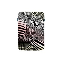 Abstract Fauna Pattern When Zebra And Giraffe Melt Together Apple iPad Mini Protective Soft Cases
