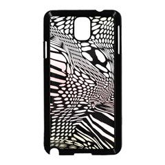 Abstract Fauna Pattern When Zebra And Giraffe Melt Together Samsung Galaxy Note 3 Neo Hardshell Case (black)
