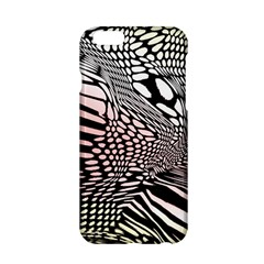 Abstract Fauna Pattern When Zebra And Giraffe Melt Together Apple Iphone 6/6s Hardshell Case