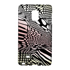 Abstract Fauna Pattern When Zebra And Giraffe Melt Together Galaxy Note Edge
