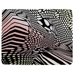 Abstract Fauna Pattern When Zebra And Giraffe Melt Together Jigsaw Puzzle Photo Stand (rectangular)