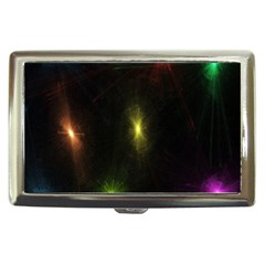 Star Lights Abstract Colourful Star Light Background Cigarette Money Cases