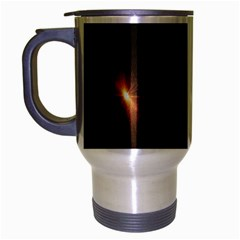 Star Lights Abstract Colourful Star Light Background Travel Mug (Silver Gray)
