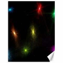 Star Lights Abstract Colourful Star Light Background Canvas 12  X 16