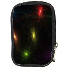 Star Lights Abstract Colourful Star Light Background Compact Camera Cases