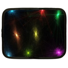 Star Lights Abstract Colourful Star Light Background Netbook Case (xxl)