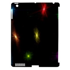 Star Lights Abstract Colourful Star Light Background Apple Ipad 3/4 Hardshell Case (compatible With Smart Cover)
