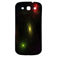 Star Lights Abstract Colourful Star Light Background Samsung Galaxy S3 S III Classic Hardshell Back Case