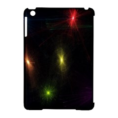 Star Lights Abstract Colourful Star Light Background Apple Ipad Mini Hardshell Case (compatible With Smart Cover)