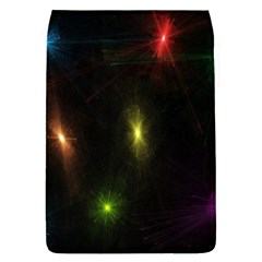 Star Lights Abstract Colourful Star Light Background Flap Covers (L)