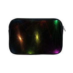 Star Lights Abstract Colourful Star Light Background Apple iPad Mini Zipper Cases