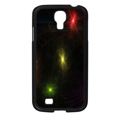 Star Lights Abstract Colourful Star Light Background Samsung Galaxy S4 I9500/ I9505 Case (Black)