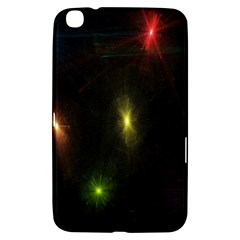 Star Lights Abstract Colourful Star Light Background Samsung Galaxy Tab 3 (8 ) T3100 Hardshell Case