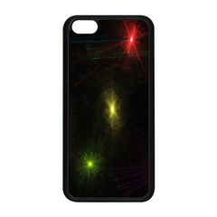 Star Lights Abstract Colourful Star Light Background Apple iPhone 5C Seamless Case (Black)