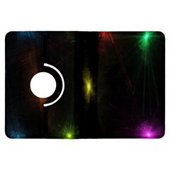 Star Lights Abstract Colourful Star Light Background Kindle Fire Hdx Flip 360 Case