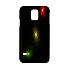 Star Lights Abstract Colourful Star Light Background Samsung Galaxy S5 Hardshell Case