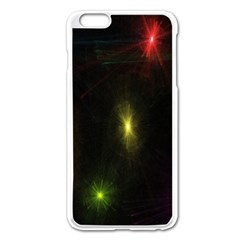 Star Lights Abstract Colourful Star Light Background Apple iPhone 6 Plus/6S Plus Enamel White Case