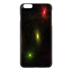 Star Lights Abstract Colourful Star Light Background Apple iPhone 6 Plus/6S Plus Black Enamel Case