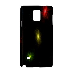 Star Lights Abstract Colourful Star Light Background Samsung Galaxy Note 4 Hardshell Case