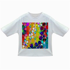 Abstract Flowers Design Infant/Toddler T-Shirts