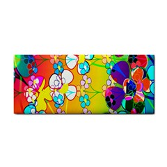 Abstract Flowers Design Cosmetic Storage Cases