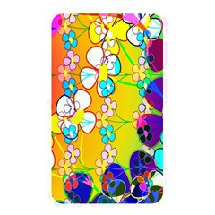 Abstract Flowers Design Memory Card Reader