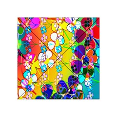 Abstract Flowers Design Acrylic Tangram Puzzle (4  X 4 )