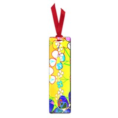 Abstract Flowers Design Small Book Marks