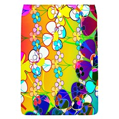 Abstract Flowers Design Flap Covers (s)
