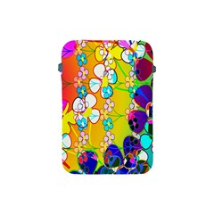 Abstract Flowers Design Apple iPad Mini Protective Soft Cases
