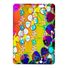 Abstract Flowers Design Kindle Fire HDX 8.9  Hardshell Case