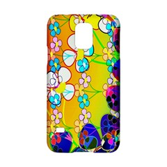 Abstract Flowers Design Samsung Galaxy S5 Hardshell Case