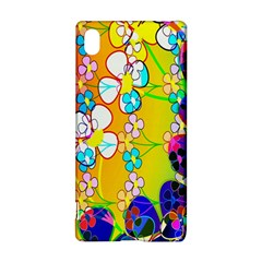 Abstract Flowers Design Sony Xperia Z3+