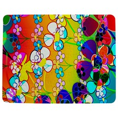 Abstract Flowers Design Jigsaw Puzzle Photo Stand (rectangular)