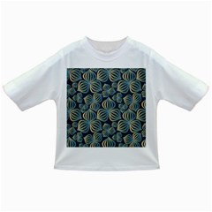 Gradient Flowers Abstract Background Infant/toddler T Shirts