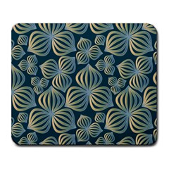Gradient Flowers Abstract Background Large Mousepads