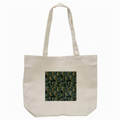 Gradient Flowers Abstract Background Tote Bag (cream)