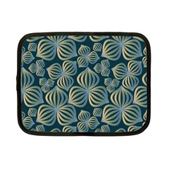 Gradient Flowers Abstract Background Netbook Case (Small)