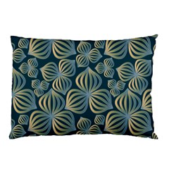Gradient Flowers Abstract Background Pillow Case