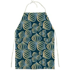 Gradient Flowers Abstract Background Full Print Aprons
